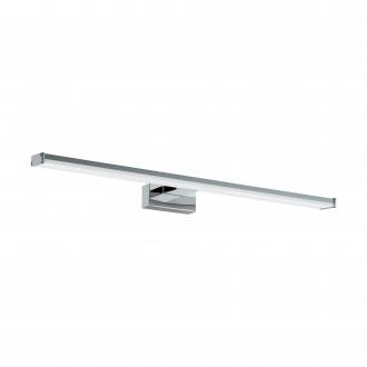 EGLO 96065 | Pandella-1 Eglo stenové svietidlo 1x LED 1350lm 4000K IP44 chróm, strieborný, biela