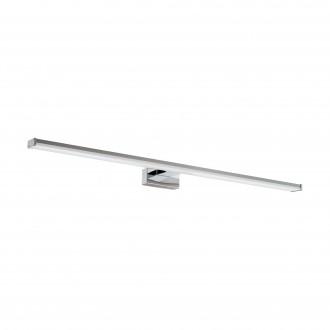 EGLO 96066 | Pandella-1 Eglo rameno stenové svietidlo 1x LED 1700lm 4000K IP44 chróm, strieborný, biela