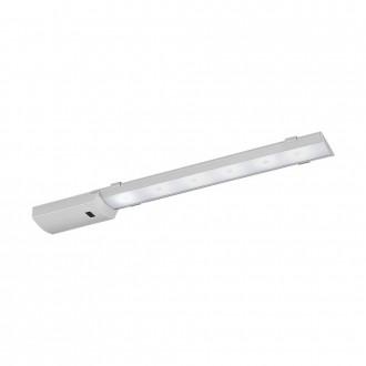 EGLO 96079 | Teya Eglo osvetlenie pultu svietidlo pohybový senzor 1x LED 550lm 4000K strieborný, biela