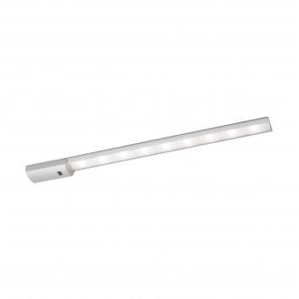 EGLO 96081 | Teya Eglo osvetlenie pultu svietidlo pohybový senzor 1x LED 850lm 4000K strieborný, biela