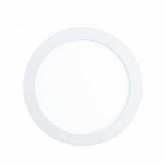 EGLO 96165 | Fueva-1 Eglo zabudovateľné LED panel kruhový Ø170mm 1x LED 1200lm 3000K IP44 biela