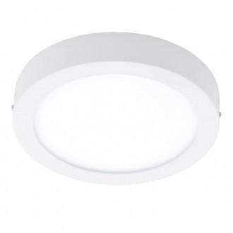 EGLO 96168 | Fueva-1 Eglo stenové, stropné LED panel kruhový 1x LED 2200lm 3000K IP44 biela