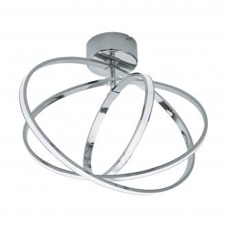 EGLO 96306 | Selvina Eglo stropné svietidlo 1x LED 1300lm + 1x LED 1000lm 3000K chróm, biela