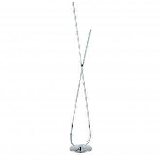 EGLO 96314 | Selvina Eglo stojaté svietidlo 141cm prepínač na vedení 1x LED 2700lm 3000K chróm, biela