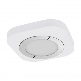 EGLO 96394 | Puyo Eglo stenové, stropné svietidlo 1x LED 1200lm 3000K chróm, biela