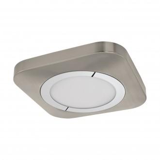 EGLO 96395 | Puyo Eglo stenové, stropné svietidlo 1x LED 1600lm 3000K matný nikel, chróm, biela