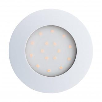 EGLO 96416 | Pineda-IP Eglo zabudovateľné svietidlo Ø102mm 1x LED 1000lm 3000K IP44 biela, opál