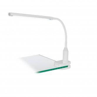 EGLO 96434 | Laroa Eglo štipcové svietidlo dotykový prepínač s reguláciou svetla flexibilné, regulovateľná intenzita svetla 1x LED 550lm 4000K biela