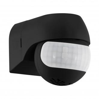 EGLO 96454 | Eglo pohybový senzor PIR 180° otočné prvky IP44 čierna
