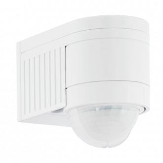 EGLO 96459 | Eglo pohybový senzor PIR 360° svetelný senzor - súmrakový spínač IP44 biela