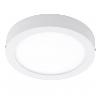 EGLO 96491 | Argolis Eglo stenové, stropné svietidlo kruhový 1x LED 1600lm 3000K IP44 biela