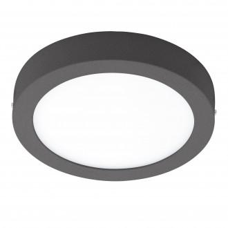 EGLO 96492 | Argolis Eglo stenové, stropné svietidlo 1x LED 1600lm 3000K IP44 antracit, biela