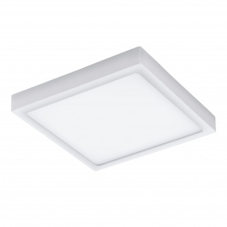 EGLO 96494 | Argolis Eglo stenové, stropné svietidlo štvorec 1x LED 2600lm 3000K IP44 biela