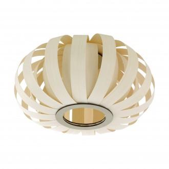 EGLO 96653 | Arenella Eglo stropné svietidlo 1x E27 biela, natur