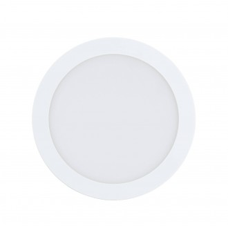 EGLO 96668 | EGLO-Connect-Fueva Eglo zabudovateľné múdre osvetlenie kruhový regulovateľná intenzita svetla, nastaviteľná farebná teplota, meniace farbu Ø225mm 1x LED 2000lm 2700 <-> 6500K biela