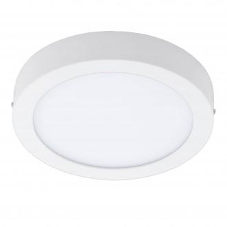 EGLO 96669 | EGLO-Connect-Fueva Eglo stenové, stropné múdre osvetlenie kruhový regulovateľná intenzita svetla, nastaviteľná farebná teplota, meniace farbu 1x LED 2000lm 2700 <-> 6500K biela