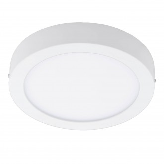 EGLO 96671 | EGLO-Connect-Fueva Eglo stenové, stropné múdre osvetlenie kruhový regulovateľná intenzita svetla, nastaviteľná farebná teplota, meniace farbu 1x LED 2700lm 2700 <-> 6500K biela