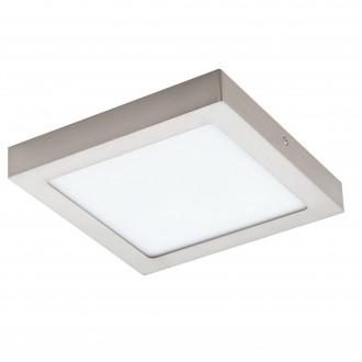 EGLO 96679 | EGLO-Connect-Fueva Eglo stenové, stropné múdre osvetlenie štvorec regulovateľná intenzita svetla, nastaviteľná farebná teplota, meniace farbu 1x LED 2000lm 2700 <-> 6500K matný nikel, biela
