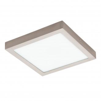 EGLO 96681 | EGLO-Connect-Fueva Eglo stenové, stropné múdre osvetlenie štvorec regulovateľná intenzita svetla, nastaviteľná farebná teplota, meniace farbu 1x LED 2700lm 2700 <-> 6500K matný nikel, biela