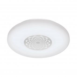 EGLO 96821 | EGLO-Connect-Capasso Eglo stenové, stropné múdre osvetlenie kruhový regulovateľná intenzita svetla, meniace farbu 1x LED 2100lm 2700 <-> 6500K biela, chróm