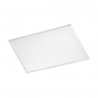 EGLO 96896 | Salobrena-RW Eglo sadrokartónový strop, stropné, visiace LED panel, Relax & Work štvorec impulzový prepínač regulovateľná intenzita svetla, nastaviteľná farebná teplota 1x LED 3000lm 2700 - 4000K biela