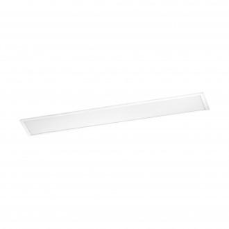 EGLO 96898 | Salobrena-RW Eglo sadrokartónový strop, stropné, visiace LED panel, Relax & Work obdĺžnik impulzový prepínač regulovateľná intenzita svetla, nastaviteľná farebná teplota 1x LED 4600lm 2700<->4000K biela