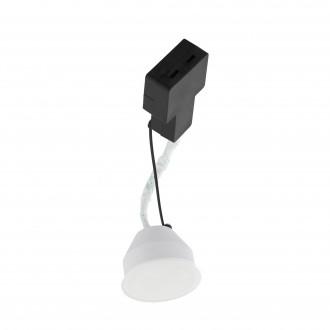 EGLO 96899 | GU10/MR16 Eglo LED modul svietidlo kruhový 1x LED 400lm 3000K biela, saténový