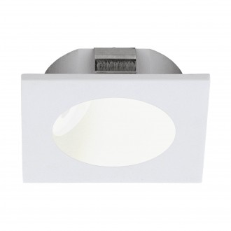 EGLO 96901 | Zarate Eglo zabudovateľné svietidlo 80mm 1x LED 200lm 3000K biela