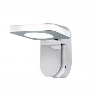 EGLO 96936 | Cabus Eglo rameno stenové svietidlo 1x LED 420lm 3000K IP44 chróm, biela