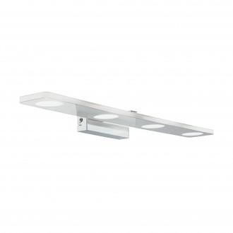 EGLO 96938 | Cabus Eglo rameno stenové svietidlo 4x LED 1680lm 3000K IP44 chróm, biela