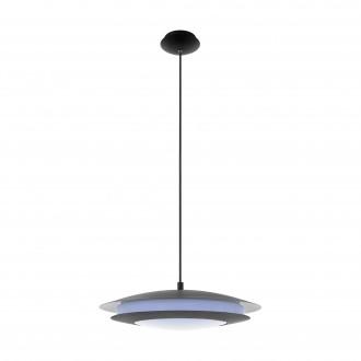 EGLO 96979 | EGLO-Connect-Moneva Eglo visiace múdre osvetlenie regulovateľná intenzita svetla, meniace farbu 1x LED 3400lm 2700 <-> 6500K čierna, biela