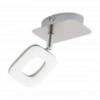 EGLO 97006 | Litago Eglo spot svietidlo otočné prvky 1x LED 350lm 3000K matný nikel, biela