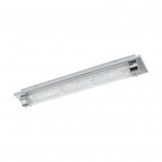 EGLO 97055 | Tolorico Eglo stenové, stropné svietidlo 1x LED 2500lm 4000K IP44 chróm, priesvitné