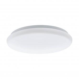 EGLO 97101 | Giron-M Eglo stenové, stropné svietidlo kruhový pohybový senzor 1x LED 1200lm 3000K biela