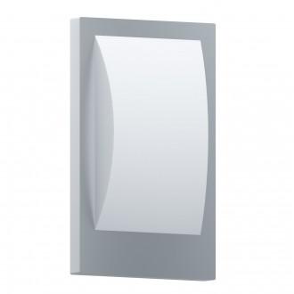 EGLO 97239 | EGLO-Connect-Verres Eglo stenové múdre osvetlenie tehla 1x E27 806lm 3000K IP44 biela, strieborný