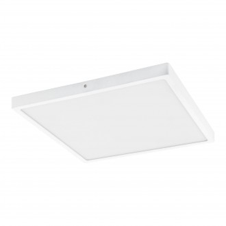 EGLO 97268 | Fueva-1 Eglo stenové, stropné LED panel štvorec 1x LED 2500lm 4000K biela