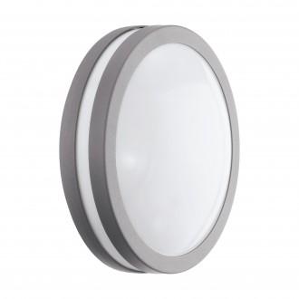 EGLO 97299 | EGLO-Connect-Locana Eglo stenové, stropné múdre osvetlenie kruhový regulovateľná intenzita svetla 1x LED 1400lm 3000K IP44 strieborný, biela