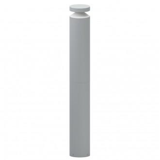 EGLO 97302 | Melzo Eglo stojaté svietidlo 99cm 1x LED 950lm 3000K IP44 strieborný, priesvitná, biela