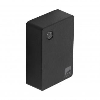 EGLO 97419 | Eglo svetelný senzor - súmrakový spínač doplnky štvorec IP44 čierna
