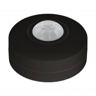 EGLO 97422 | Eglo pohybový senzor PIR 360° kruhový IP44 čierna, biela