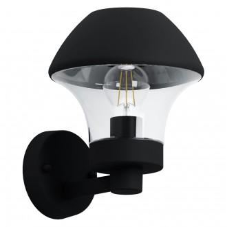 EGLO 97446 | EGLO-Connect-Verlucca Eglo stenové múdre osvetlenie 1x E27 806lm 3000K IP44 čierna, priesvitná