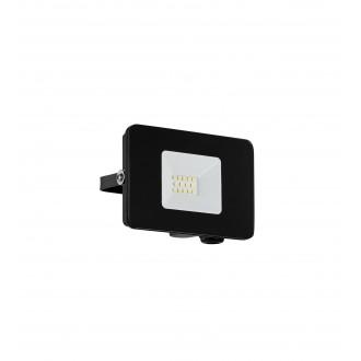 EGLO 97455 | Faedo Eglo svetlomet svietidlo štvorec otočné prvky 1x LED 900lm 4000K IP65 čierna, priesvitná