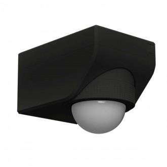 EGLO 97467 | Eglo pohybový senzor PIR 360° svetelný senzor - súmrakový spínač IP44 čierna