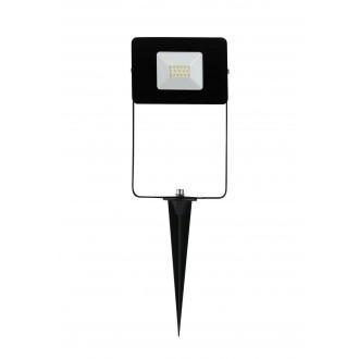 EGLO 97471 | Faedo Eglo svetlomet zapichovacie svietidlo zástrčka - bez spínača otočné prvky 1x LED 900lm 4000K IP44 čierna, priesvitné