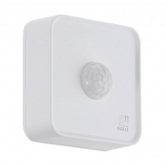 EGLO 97475 | Eglo pohybový senzor PIR 120° múdre osvetlenie štvorec batérie/akumulátorové IP44 biela