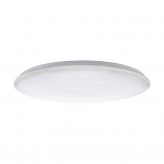 EGLO 97528 | Giron-LED Eglo stropné svietidlo kruhový diaľkový ovládač regulovateľná intenzita svetla, nastaviteľná farebná teplota 1x LED 7800lm 3000 <-> 5000K biela