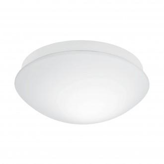 EGLO 97531 | Bari-M Eglo stenové, stropné svietidlo pohybový senzor 1x E27 IP44 biela, opál