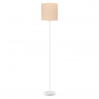 EGLO 97566 | Eglo-Pasteri-Pastel-A Eglo stojaté svietidlo 157,5cm nožný vypínač 1x E27 pastelová marhuľová, biela