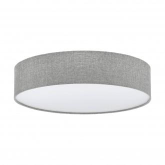 EGLO 97613 | Eglo-Pasteri-GR Eglo stropné svietidlo 3x E27 sivé, biela, nikel