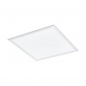 EGLO 97629 | EGLO-Connect-Salobrena Eglo sadrokartónový strop, stropné, visiace múdre osvetlenie štvorec diaľkový ovládač regulovateľná intenzita svetla, nastaviteľná farebná teplota, meniace farbu 1x LED 2500lm 2700 <-> 6500K biela